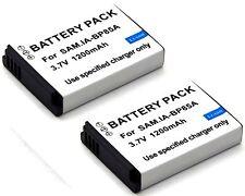 2x Battery for Samsung PL210 PL211 SH100 ST200 ST200F ST201 ST201F ST205F WB210