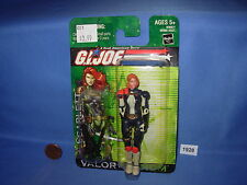 "2004 G.I. JOE SCARLETT (Agent) VALOR vs. VENOM 3.75"" Figure MOC"