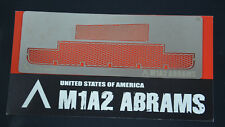 RC 1/24 VS Tank M1A2 Abrams Photo Etched Mesh Parts Pro Model Kit A02107309 NEW