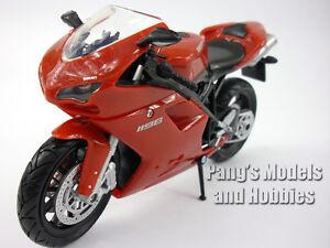 Ducati 1198 (2009 - 2011) 1/12 Scale Diecast Metal  Model by NewRay