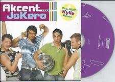 AKCENT - Jokero CD SINGLE 5TR Eurodance 2006 (DIGIDANCE) Holland