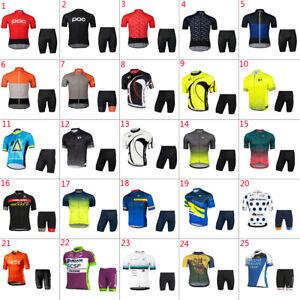 2020 Mens team cycling jersey shorts sets cycling shorts cycling jerseys