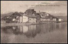 AX0125 Imperia - Provincia - Ventimiglia - Cavo Borgo Marina - 1912 old postcard