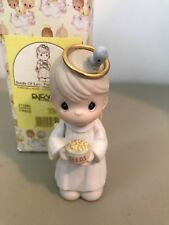 Precious Moment Figurine - 271586 - Seeds Of Love From The Chape- Retired 1999