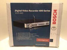 BOSCH SERIES 400 DIGITAL VIDEO RECORDER DVR 440 in ORIGINAL BOX, ORIGINAL MANUAL