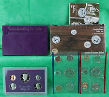 1985 Proof and Uncirculated Annual US Mint Coin Sets PDS 15 Coins FREE US SHIP