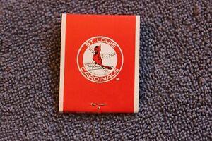 1970 St. Louis Cardinals MLB baseball home schedule full matchbook