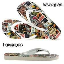 Sandali e scarpe bianche Havaianas in gomma per il mare da donna