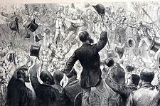 Chicago Illinois 1884 DEMOCRATIC NATIONAL CONVENTION for PRESIDENTIAL CANDIDATE