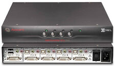 Avocent SC4UAD-001 Quad-Port 100-240Volts 50-60Hz Secure KVM Switch *New*