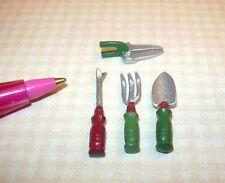 Set of Garden Tools Miniature Dollhouse 1 12 Scale