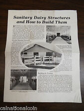 Portland Cement Association Sanitary Dairy Structures & How to Build Them Guide