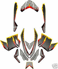 DIAMOND PLATE SLED WRAP for SKI-DOO XP ,mxz, summit, 2008-12