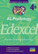 A2 Psychology Edexcel: Criminological Psychology: Unit 4b by Christine Brain...