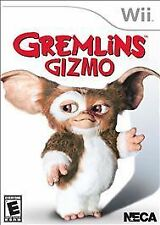 NEW Wii Gremlins Gizmo video game (Nintendo Wii, 2011)