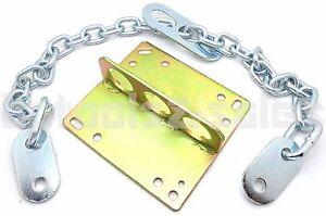 "Engine Motor Lifting Hoist Remove Plate & Engine Lifting Chains Sling 36"" x 8mm"