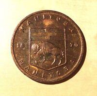 Manitoba Prairie Crocus Confederation 1870 Medal