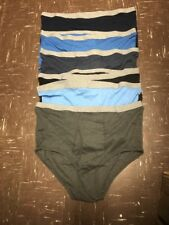 Men's Stafford Briefs Size 56 Assorted Colors Lot Of 6 New