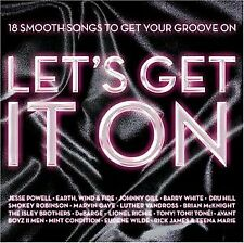Various - Lets Get It On: 18 Smooth Songs CD ** Free Shipping**