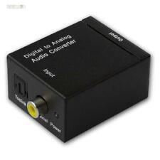 MINI-DAC II, Digital / Analog-Wandler, Audio Converter, TV-Ton auf Anlage, DAC