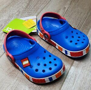 LEGO Crocs Shoes Kids Boys' Size 12/13