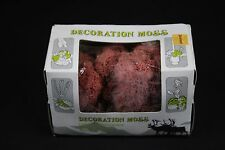 W508 decor Ho train diorama deco 10662 moss boite lichen de rennes pink rose 50g