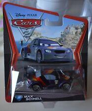 DISNEY PIXAR CARS 2 MAX SCHNELL # 21 NEW NEW