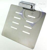 Kennzeichenplatte für seitliche Kennzeichenhalter - inkl. Beleuchtung