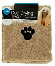 Kole Ultra-Absorbent Pet Bath Towel for Small Medium Large Dogs Cats MachineWash