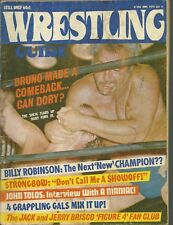 WRESTLING GUIDE MAGAZINE JUNE 1974 DORY FUNK JR.