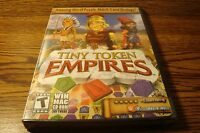 Tiny Token Empires  PC CD-ROM Microsoft Windows/Mac Software Game Rated Teen
