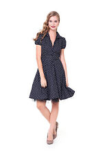 Rockabilly Dress Petticoat 50er Years Dance Retro Vintage Polka Dots 32 - 56