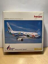 "Herpa Wings 561778 Bangkok Airways Airbus A320 ""Samui"" 1:400 RARE SELTEN OVP"