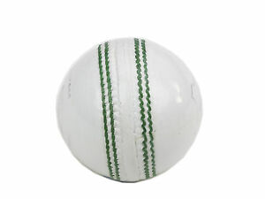 CRICKET BALLS WHITE LEATHER JUNIOR BOX OF 6 BALLS SIZE 4.5 OZ