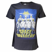 Space Invaders Astronauts Black Shirt