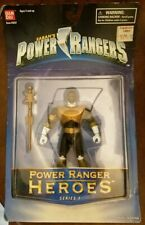 Mighty Morphin Power Rangers Heroes Gold RANGER Zeo 1997 MOC RARE Bandai S1