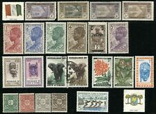 IVORY COAST Postage French Colony Stamp Collection Cote d'Ivoire Mint LH