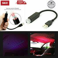 Mini LED Car Roof Night Lights Projector Atmosphere Light Interior USB Plug Home