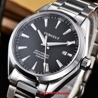 41mm CORGEUT black dial blue white dial Sapphire glass automatic mens Watch