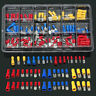 120Pcs Assorted Insulated Electrical Wire Terminals Crimp Connectors Spade Kit