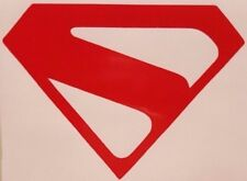 "Superman Kingdom Come ""S"" Chest Logo vinyl sticker decal choose size/color"