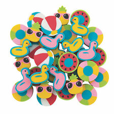 Mini Pool Party Eraser Assortment - Stationery - 300 Pieces