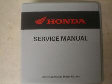 Honda Genuine New Dealer Service Manual Grey 7 Ring Binder Atv Utv Motorcycle