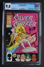 SILVER SURFER V3 #1 GALACTUS She-Hulk NOVA Champion Elders 1987 Rogers CGC 9.8