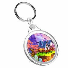 1 X Colourful Magic Realm Fairy Fun - Keyring IR02 Mum Dad Birthday Gift #16884