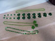 4 St. Patricks Day Party Necklaces