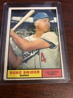 1961 Topps Duke Snider #443 Baseball Card