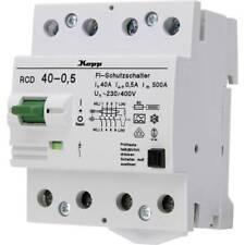Kopp 754045010 Interruttore differenziale di sicurezza A 40 A 0.5 A 230 V, 400