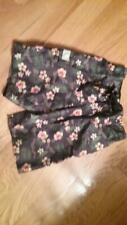 Adam Levine flowered lined swim trunks Small shorts Euc
