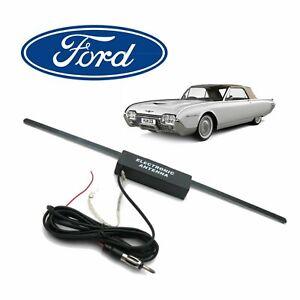 Ford Thunderbird Hidden Amplified Radio Antenna FM Stereo elite holley 430 351m